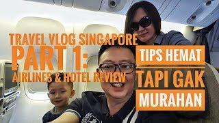 """Travel Vlog: 7 Hari Di Singapore, Tips Liburan Ngirit Tapi Mewah.  """"Airlines Dan Holiday Inn Review"""""""
