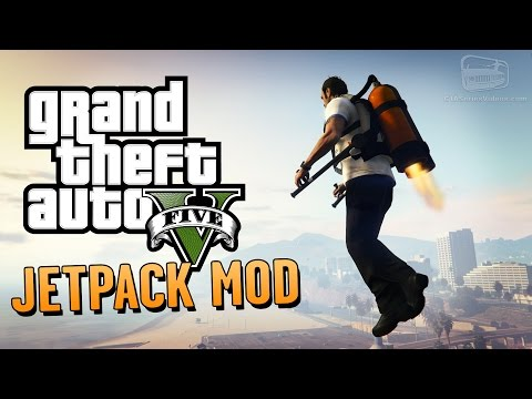 The jetpack returns to San Andreas with this Grand Theft Auto 5 mod