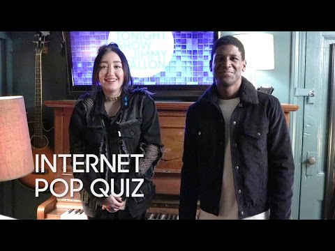 Internet Pop Quiz with Noah Cyrus and Labrinth