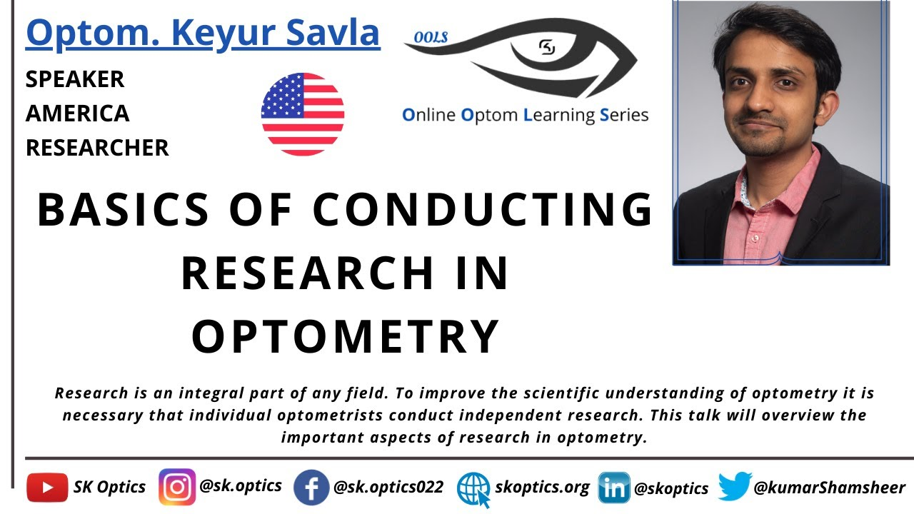 Basics of Conducting Research in Optometry | OOLS |
