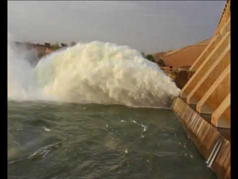 Damazine dam, Blue Nile State, Sudan