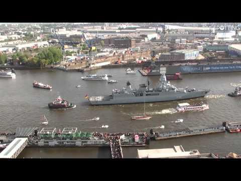Hafengeburtstag Hamburg 2013 - Auslaufparade