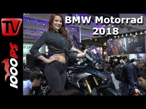 BMW Motorrad 2018 Premiere - BMW K 1600 Grand America , 750 GS, 850 GS, C 400 X