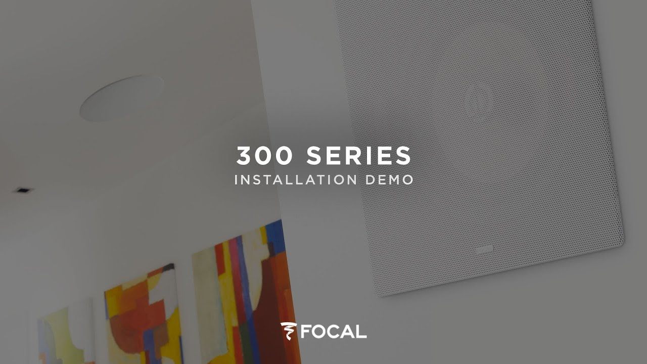 How to install 300 Series ICW integration loudspeakers ?