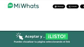 MiWhats  - Modifica  tu link de MiWhats