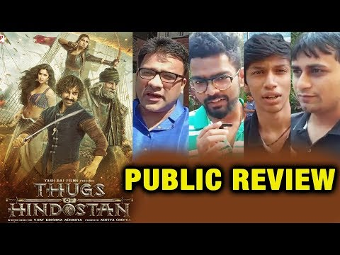 Thugs Of Hindostan PUBLIC REVIEW | First Day First Show | Aamir Khan, Amitabh, Katrina, Fatima