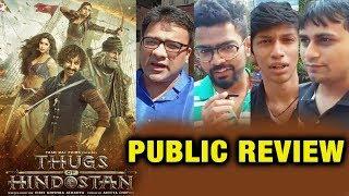 Thugs Of Hindostan PUBLIC REVIEW | First Day First Show | Aamir Khan, Amitabh, Katrina, Fatima