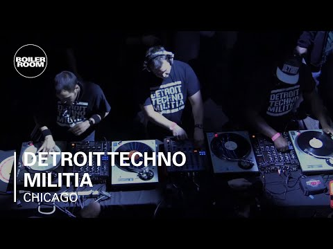 Detroit Techno Militia (313 The Hard Way) Boiler Room Chicago DJ Set