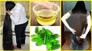 Vitamin E Oil for Double Hair Re-Growth Formula | Get Long and Thicken Hair Super Fast Way