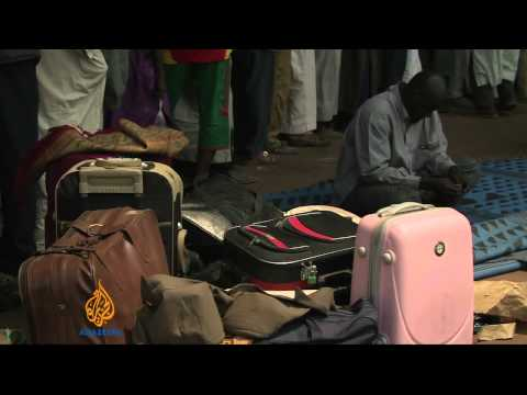 Muslims fleeing violence in Central African Republic attacked
