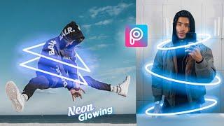 Picsart Tutorial - Edit Neon Glowing (Shape)