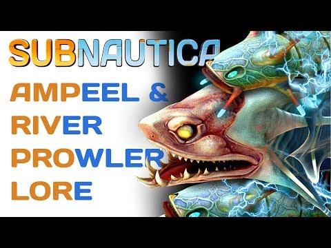Subnautica Lore: Ampeel & River Prowler | Video Game Lore