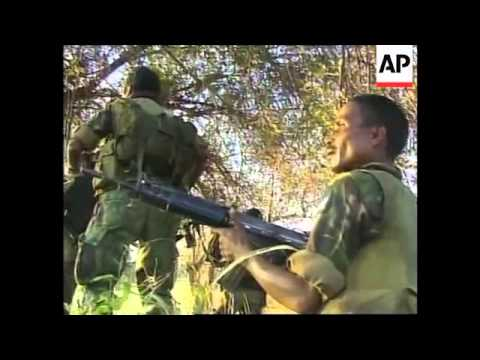 EAST TIMOR: UN TROOPS INVOLVED IN FIRE FIGHT