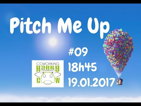 Pitch Me Up #09 - Live - à HarryCow Coworking