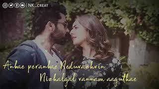 NGK Anbae Peranbae Lyric | Suriya | Yuvan Shankar Raja | Selvaraghavan | NK creation
