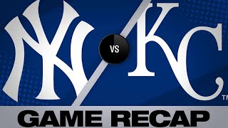 5/25/19: Voit homers in Yanks