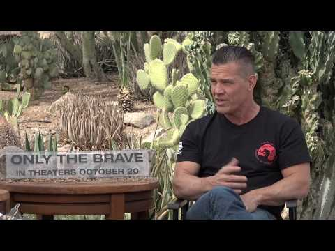 """Interview with Josh Brolin about his role in """"Only the Brave"""""""