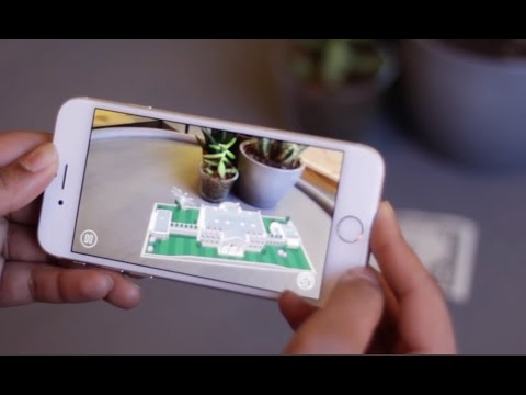 Augmented Reality App Turns Dollar Bill Into White House