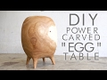 DIY Power-Carved Egg Table | Modern Builds | EP. 55 | ARBORTECH TURBOPLANE