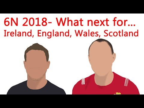 6 Nations 2018 Review-  What next for...Ireland, England, Wales & Scotland? Team of the Tournament.