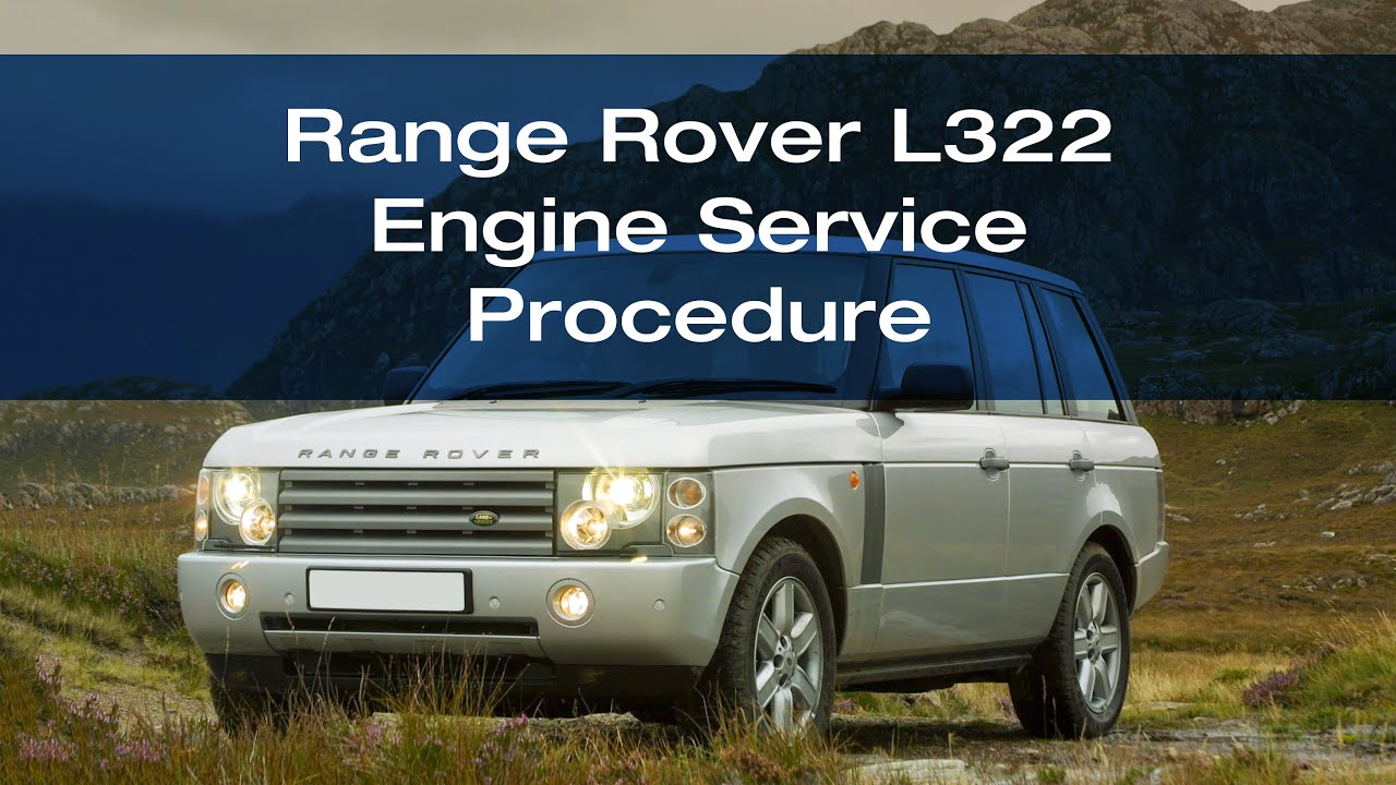 Servicing a Range Rover L322 4 4 V8 Petrol BMW M62 engine
