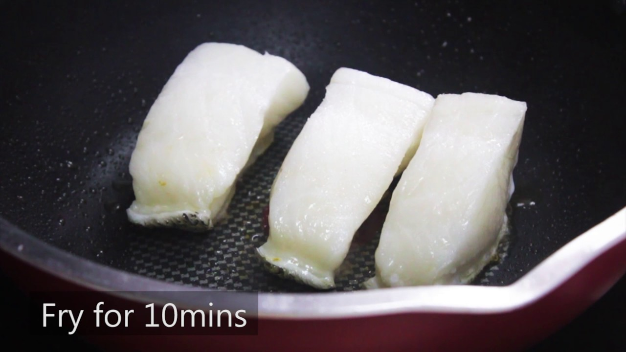 Pan Fried Teriyaki Cod Youtube