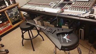 ESP LTD Vulture James Hetfield Metallica Signature EMG Het Set Guitar Video Up Close Review