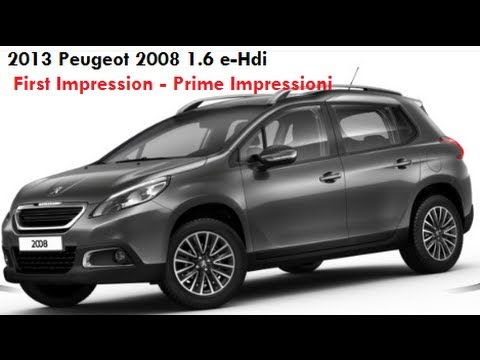 2013 peugeot 2008 active first impression peugeot 2008. Black Bedroom Furniture Sets. Home Design Ideas
