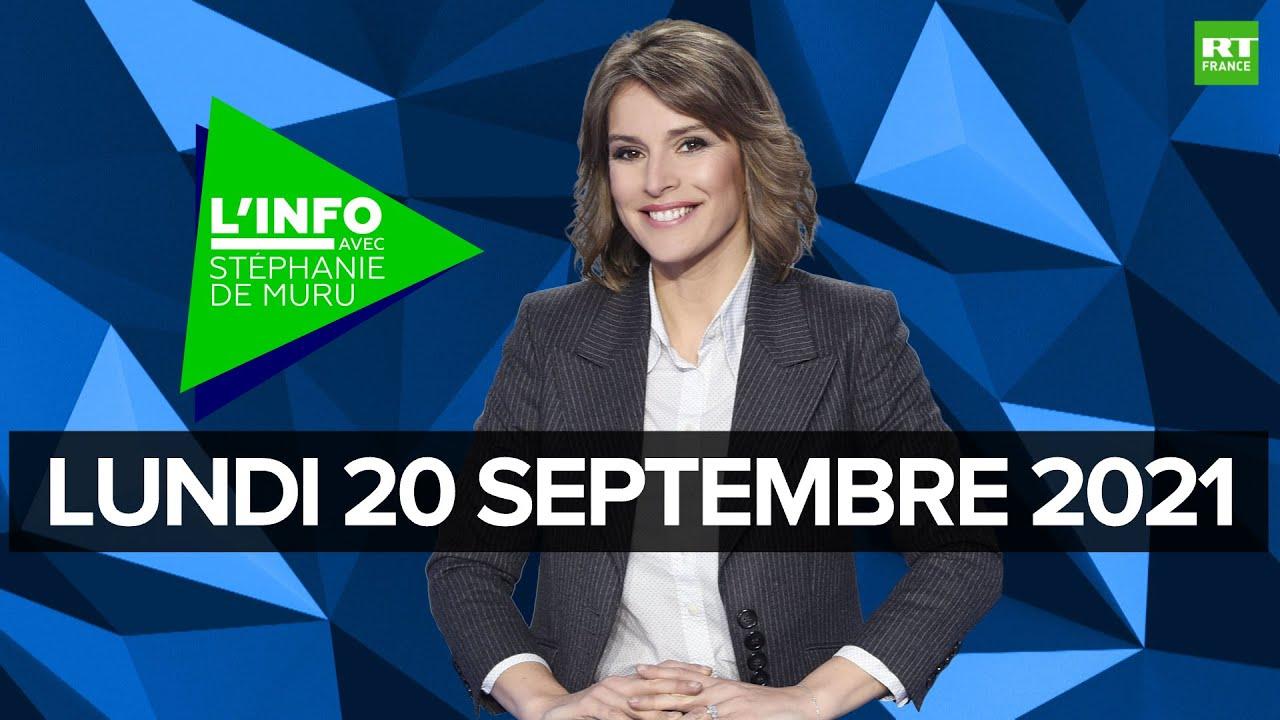 Download L'Info avec Stéphanie De Muru - Lundi 20 septembre 2021