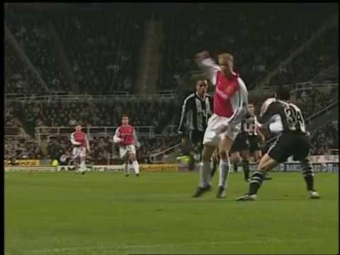 Bergkamp's wonder goal against Newcastle United.