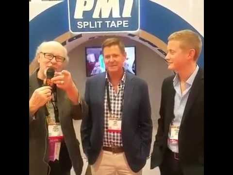 Scott Fresener interviews Mark & Andrew James from PMI Split Tape at SGIA 2016 in Las Vegas