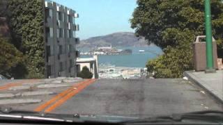 Bullitt Car Chase Locations - Then & Now