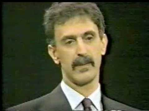 Frank Zappa On Freedom Of Speech (CNN Crossfire 1986 - Pt. 1)