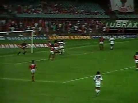 Em 1992, melhores momentos de Flamengo 1 x 0 São Paulo ...
