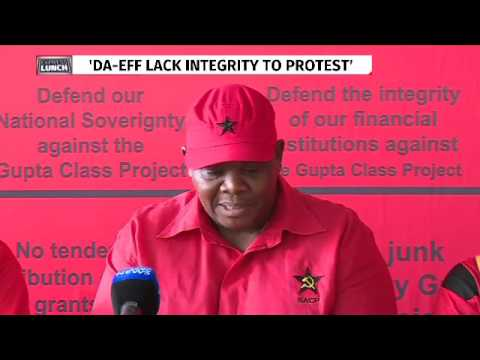 SACP dismisses opposition protest