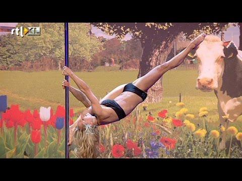 Tatjana van Onna - paaldansact | Audities | HOLLAND'S GOT TALENT 2014