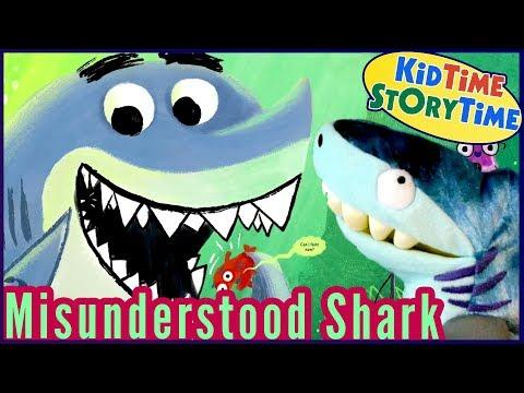 Misunderstood Shark | Kid Stories Funny | Sharks for Kids Read Aloud