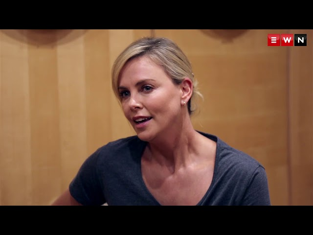 Charlize Theron on HIV - The stigma has to stop