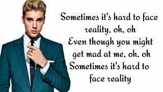 Poo Bear ft. Justin Bieber & Jay Electronica - Hard 2 face reality ( lyrics)