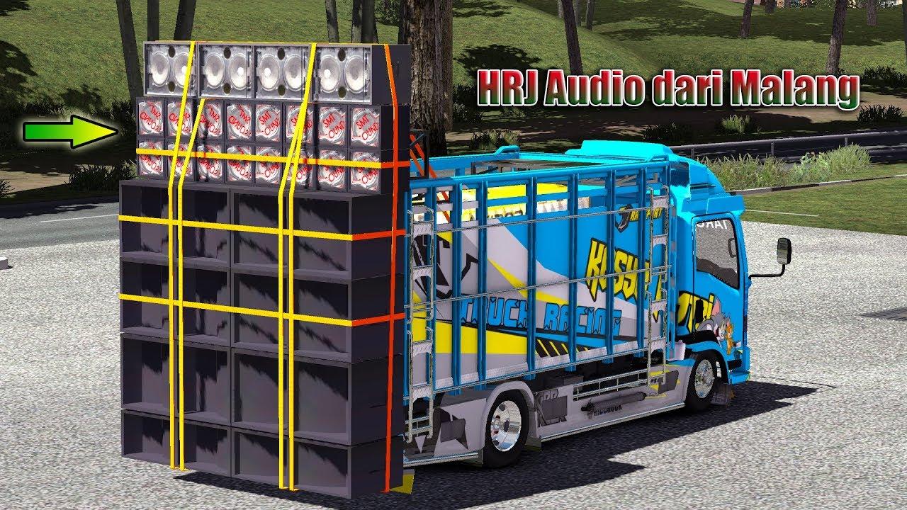Truck NMR Oleng Bawa Sound HRJ Malang Untuk Kontes