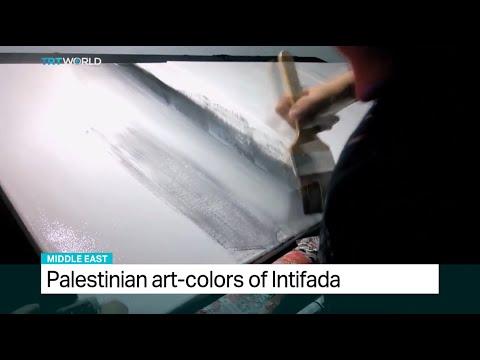 Palestinian art colours of Intifada