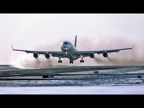 ИЛ-96 Рванул На Второй Круг / Аэропорт Внуково (УТП)