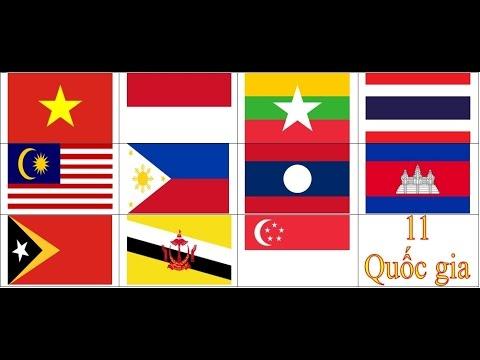 sưu tầm quốc kỳ, quốc huy và thủ đô của 11 nước Đông Nam Á