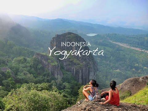 Traveling Indonesia - Yogyakarta 2016  (Gunung Api Nglanggeran, Malioboro, Bumi Langit Restaurant)