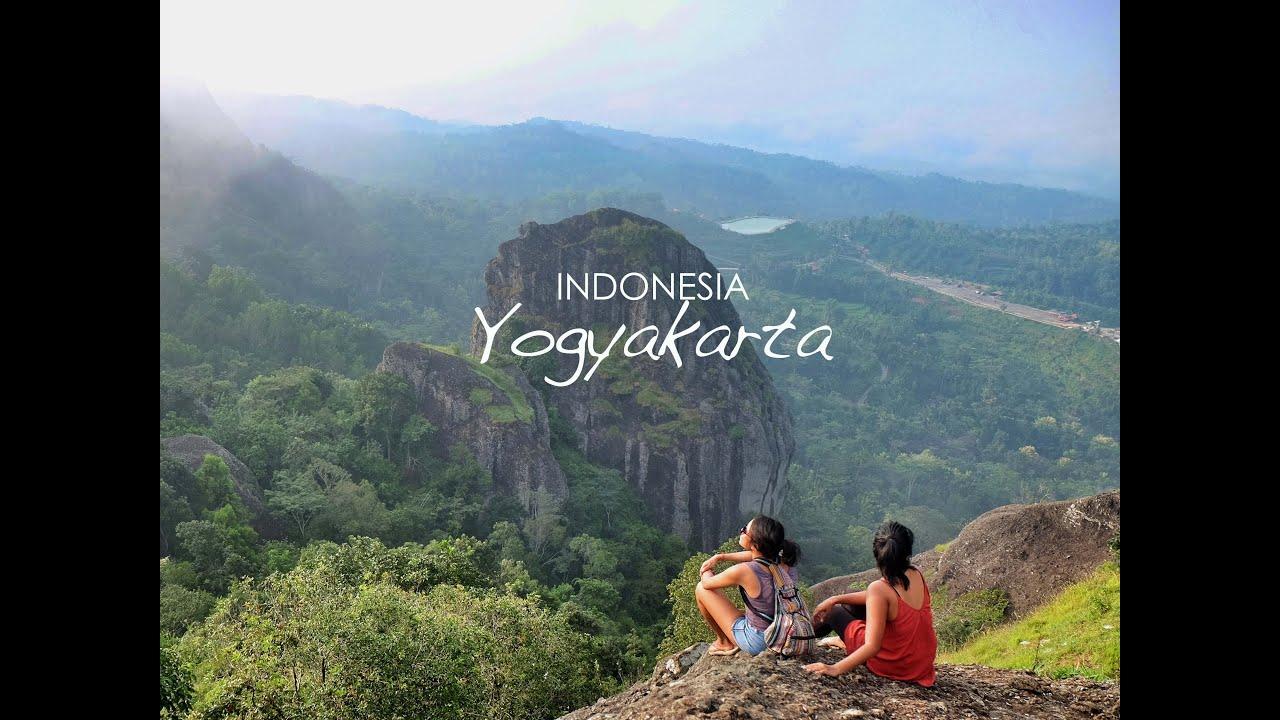 traveling indonesia yogyakarta 2017 gunung api nglanggeran malioboro bumi langit restaurant youtube