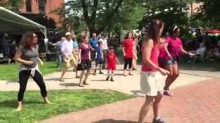 mama's comfort camp flash mob