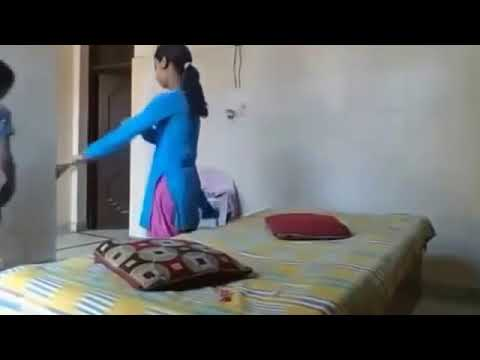 Girls caught on hidden camera