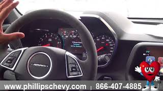 Phillips Chevrolet - 2018 Chevy Camaro ZL1 - Dual Information Screens - Chicago New Car Dealership