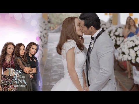 Escena final: Ana Laura y Ramiro se casan | Gran final de Tres veces Ana - Televisa