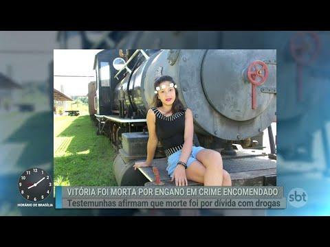 Polícia confirma que Vitória foi morta por engano a mando de traficante   Primeiro Impacto 05/07/18